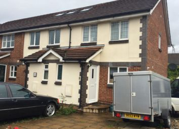 Thumbnail 3 bed end terrace house to rent in Clydesdale Close, Isleworth