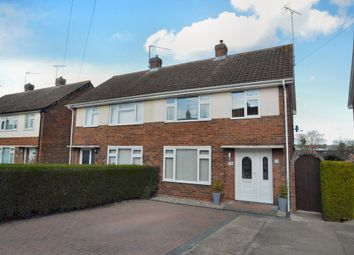 Thumbnail 3 bed semi-detached house for sale in Downs Crescent, Haverhill