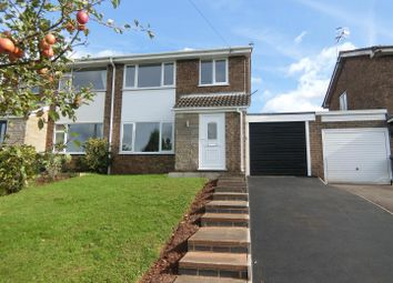Thumbnail 3 bed semi-detached house for sale in Glebe Road, Thringstone, Leicestershire