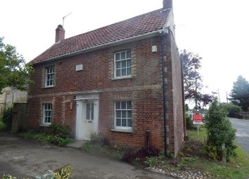 Thumbnail 3 bed detached house for sale in Church Cottage, Fakenham Road, East Rudham, Kings Lynn, Norfolk