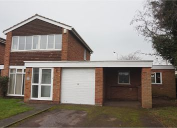 Thumbnail 3 bed detached house for sale in Park Hall Close, Rugeley