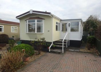Thumbnail 1 bed mobile/park home for sale in Riverside Park, Mayhill, Monmouth
