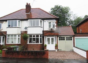 Thumbnail 3 bed semi-detached house for sale in Brookvale Road, Olton, Solihull
