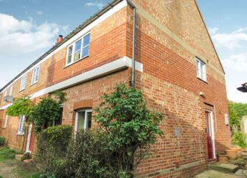 Thumbnail 2 bedroom end terrace house for sale in The Street, Long Stratton, Norwich