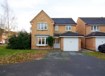 Thumbnail 4 bed detached house for sale in Thorntree Close, Leicester