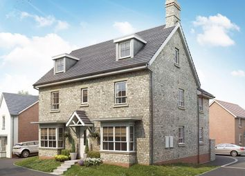 "Thumbnail 5 bed detached house for sale in ""Marlowe"" at Bevans Lane, Pontrhydyrun, Cwmbran"