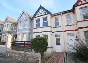 Thumbnail 3 bed terraced house for sale in Ford Park Road, Mutley, Plymouth, Devon