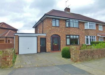 Thumbnail 3 bed semi-detached house for sale in Lycett Road, York