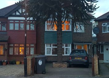 Thumbnail 3 bedroom semi-detached house to rent in Markmanor Avenue, London