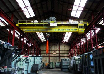 Thumbnail Industrial to let in 100 Tonne Crane Storage Facility, Burntwood Business Park, Burntwood