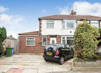 Thumbnail 3 bed semi-detached house for sale in Bishop Road, Flixton, Manchester