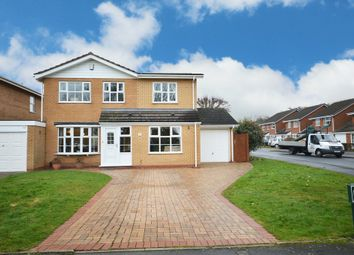 Thumbnail 4 bed detached house for sale in Binley Close, Shirley, Solihull