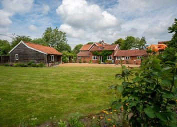 Thumbnail 4 bed detached house for sale in Crown Green, Burston, Diss