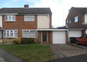 Thumbnail 3 bed semi-detached house for sale in Aylesford Drive, Four Oaks, Sutton Coldfield