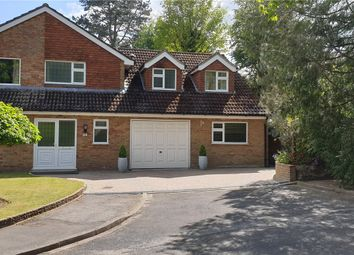 Thumbnail 4 bed detached house for sale in Greenfield Close, Liphook, Hampshire
