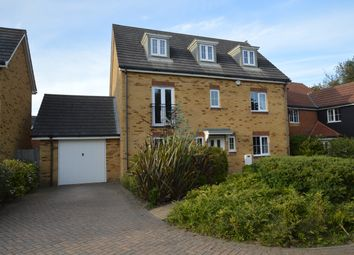 Thumbnail 5 bedroom detached house for sale in Campbell Road, Hawkinge, Folkestone