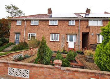 Thumbnail 3 bed terraced house for sale in Rothbury Road, Wymondham