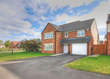 Thumbnail 4 bed detached house for sale in Dunnock Place, Wideopen, Newcastle Upon Tyne