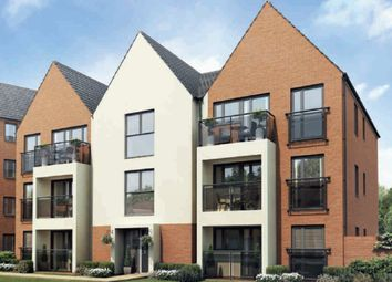 "Thumbnail 2 bedroom flat for sale in ""Lowesbury"" at Caledonia Road, Off Kiln Farm, Milton Keynes"