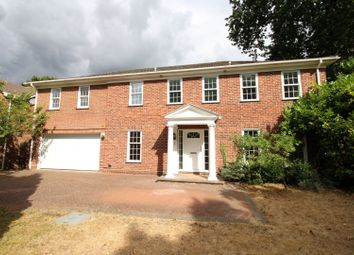 Thumbnail 6 bed detached house for sale in Pine Walk, Cobham