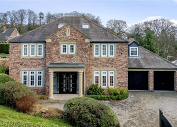 Thumbnail 5 bed detached house for sale in Upper Fenwick Grove, Morpeth, Northumberland