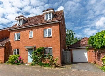 Thumbnail 5 bed link-detached house for sale in Chaffinch Road, Bury St. Edmunds