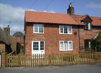 Thumbnail 3 bed semi-detached house to rent in West Rasen, Market Rasen