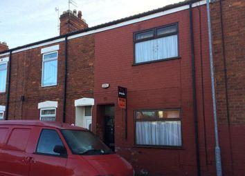 Thumbnail 2 bedroom terraced house for sale in Sefton Street, Hessle Road, Hull