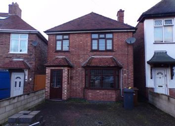 Thumbnail 3 bed detached house for sale in Hill Street, Burton On Trent, Staffordshire