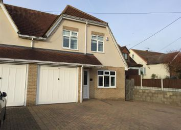 Thumbnail 4 bed property for sale in Ferry Road, Hullbridge, Hockley