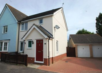 Thumbnail 3 bed semi-detached house for sale in Brock Close, Tiptree, Colchester