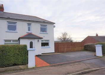 Thumbnail 3 bed semi-detached house for sale in Commin Road, Aberbargoed