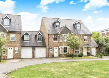 Thumbnail 4 bed town house for sale in Saville Close, Epsom