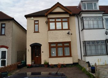 Thumbnail 3 bed terraced house to rent in Abbey Road, Newbury Park, Ilford