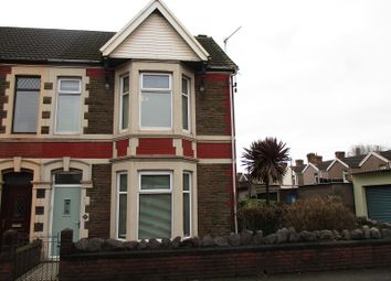 Thumbnail 3 bed end terrace house for sale in Abbey Road, Port Talbot, Neath Port Talbot.