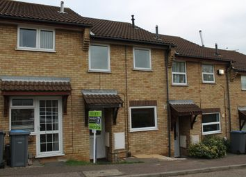 Thumbnail 2 bed terraced house to rent in Brightwell Close, Felixstowe