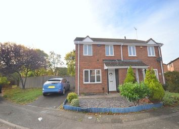 Thumbnail 3 bed semi-detached house for sale in Elton Close, The Glades, Northampton