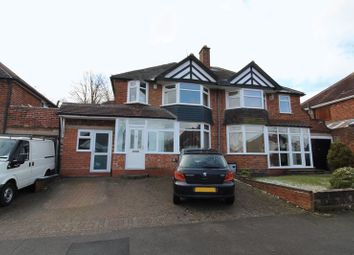 Thumbnail 3 bedroom semi-detached house for sale in Loynells Road, Rednal, Birmingham