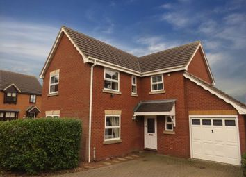Thumbnail 4 bed detached house to rent in Farthinghoe Close, Brackley