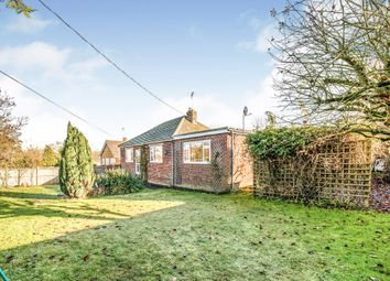 Thumbnail 4 bed detached bungalow for sale in Feltwell Road, Methwold Hythe, Thetford