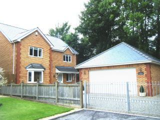 Thumbnail 4 bed detached house for sale in Clos Andrews, Tondu, Bridgend