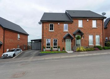 Thumbnail 3 bed semi-detached house for sale in Millmount Village Park, Dundonald, Belfast