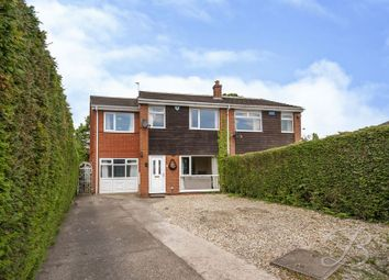 Thumbnail 4 bed semi-detached house for sale in Oakridge Close, Forest Town, Mansfield