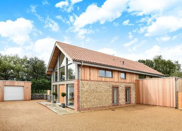Thumbnail 4 bed detached house for sale in Docking Road, Ringstead, Hunstanton