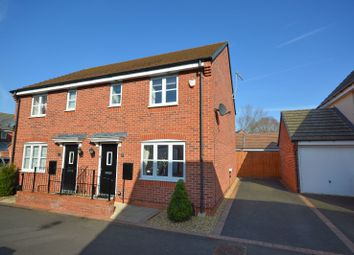 Thumbnail 3 bed semi-detached house for sale in Mallard Close, Aylestone, Leicester