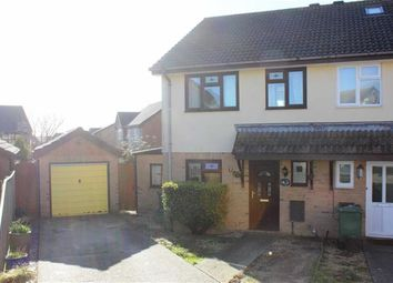 Thumbnail 3 bed semi-detached house for sale in Dahlia Close, Weymouth, Dorset