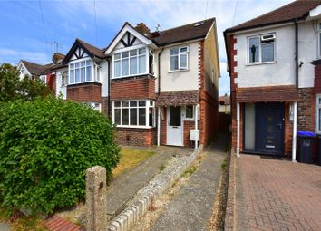 Thumbnail 4 bed semi-detached house for sale in Grand Avenue, Lancing, West Sussex