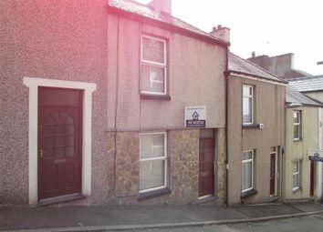 Thumbnail 2 bed terraced house for sale in Rowland Street, Caernarfon, Gwynedd