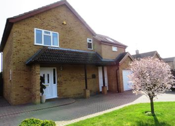 Thumbnail 4 bedroom detached house for sale in Greenwood Close, Bury, Ramsey, Huntingdon