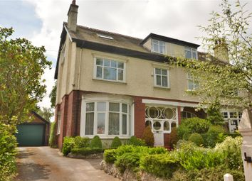 Thumbnail 6 bed semi-detached house for sale in The View, Roundhay, Leeds